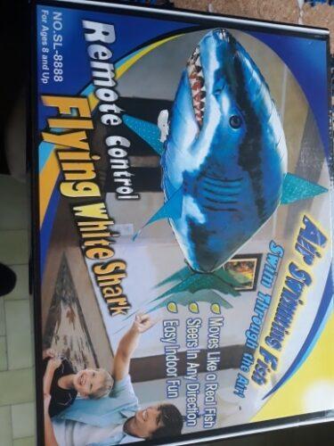 Remote Control Shark Balloon (Shark & Clownfish) photo review