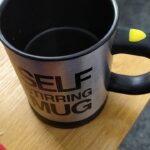 Self-Stirring Coffee Mug photo review